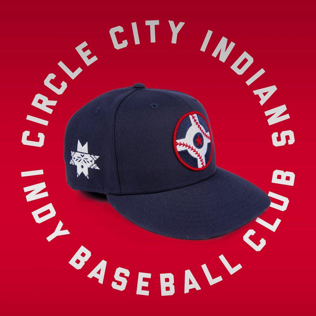 Indianapolis Indians Circle City Hat